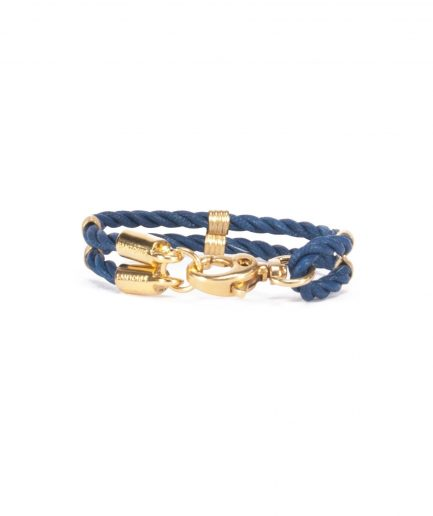CAPRI BLUE LEATHER BRACELET-0