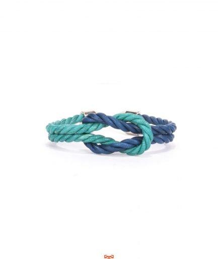 PANAREA / CAPRI BLUE LEATHER BRACELET-0