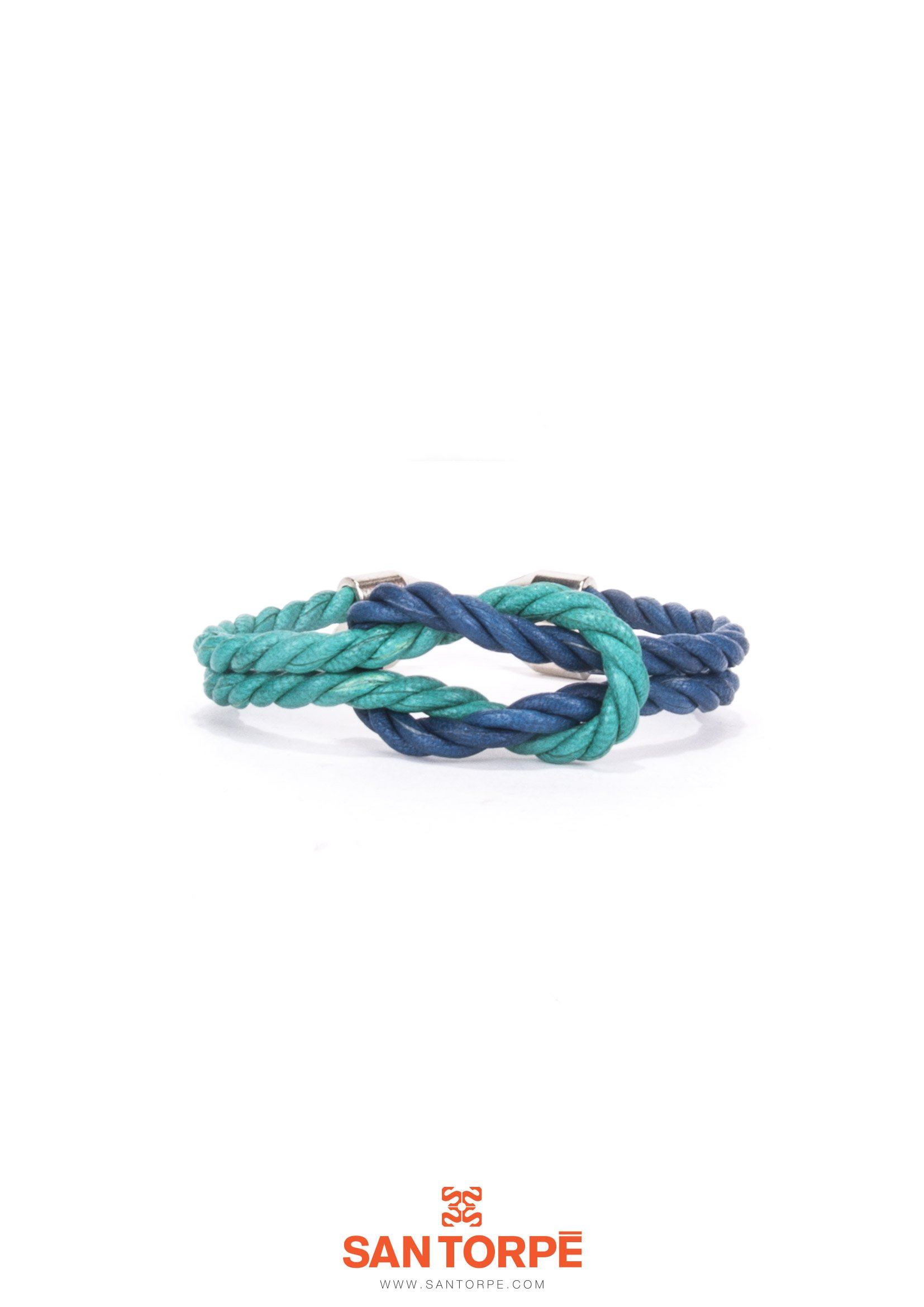 PANAREA / CAPRI BLUE LEATHER BRACELET-0