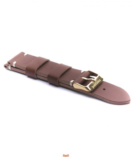 20mm TAN LEATHER STRAP-0