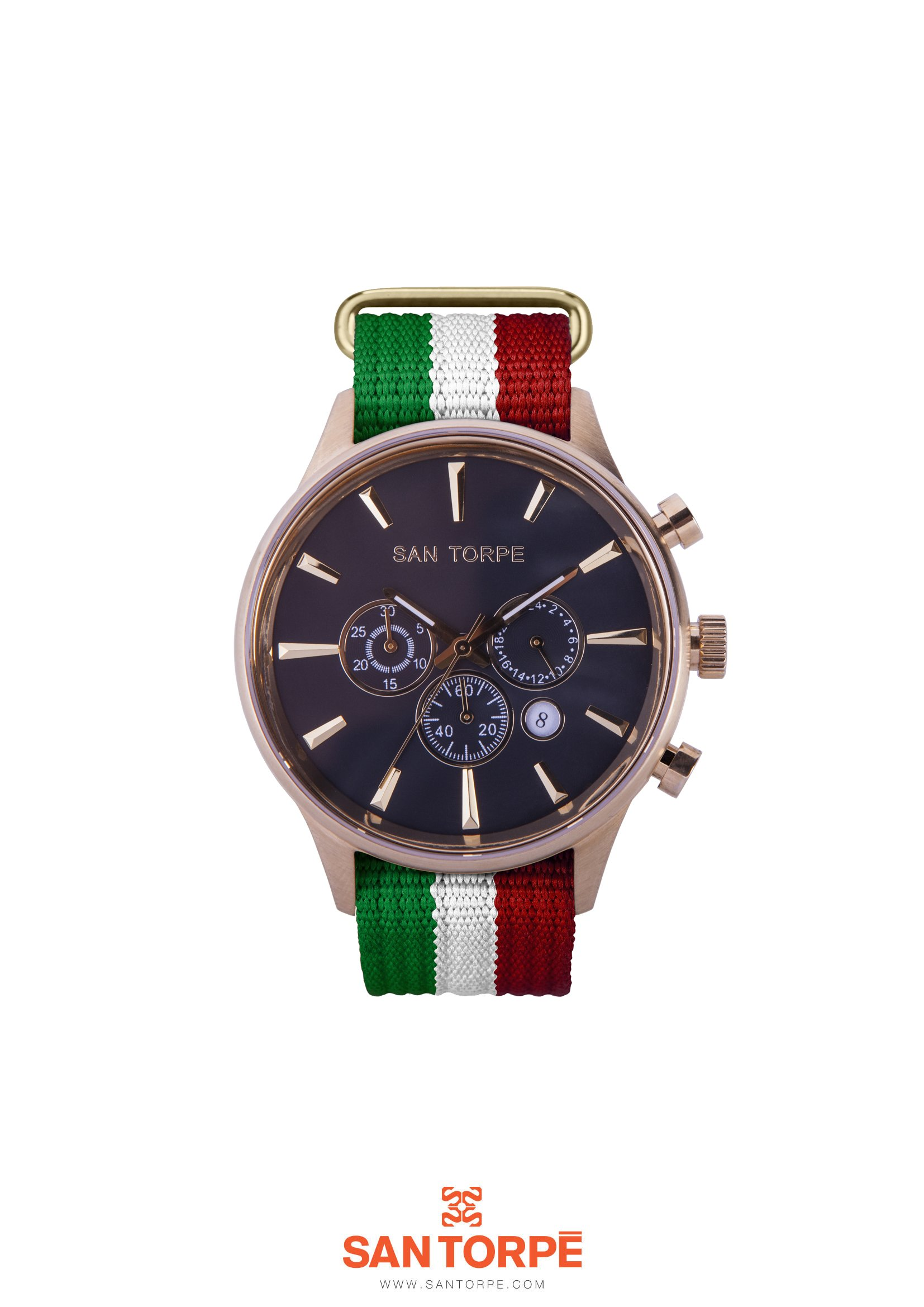 AEOLVS ITALY GOLD WATCH -0
