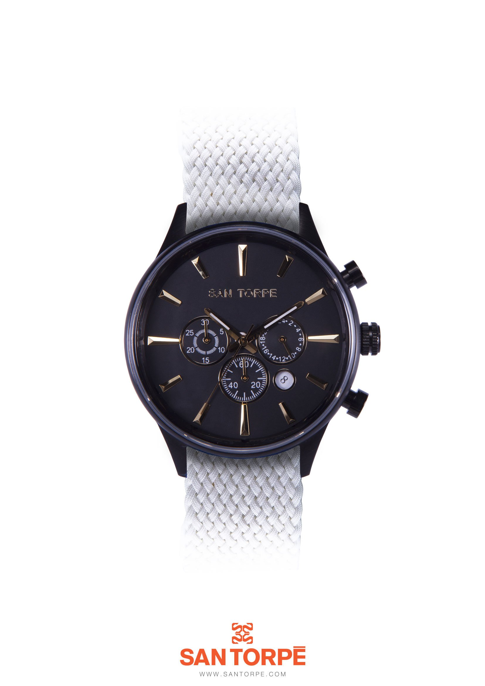 AEOLVS PERLON BLACK WATCH -0