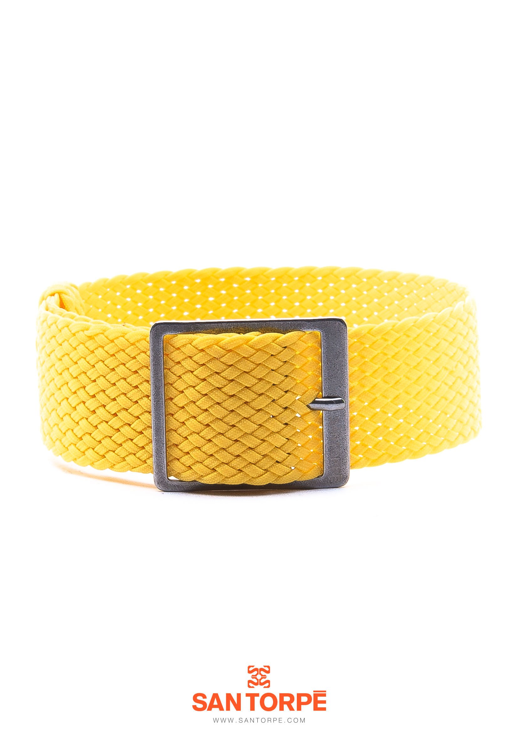 YELLOW PERLON STRAP-0