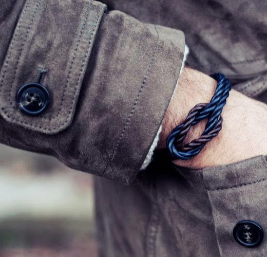 san torpe leather bracelet