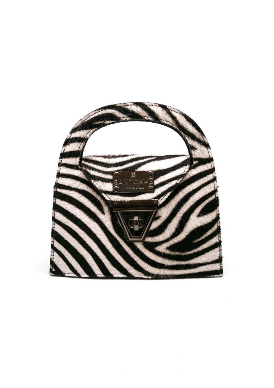 inez san torpe leather handbag