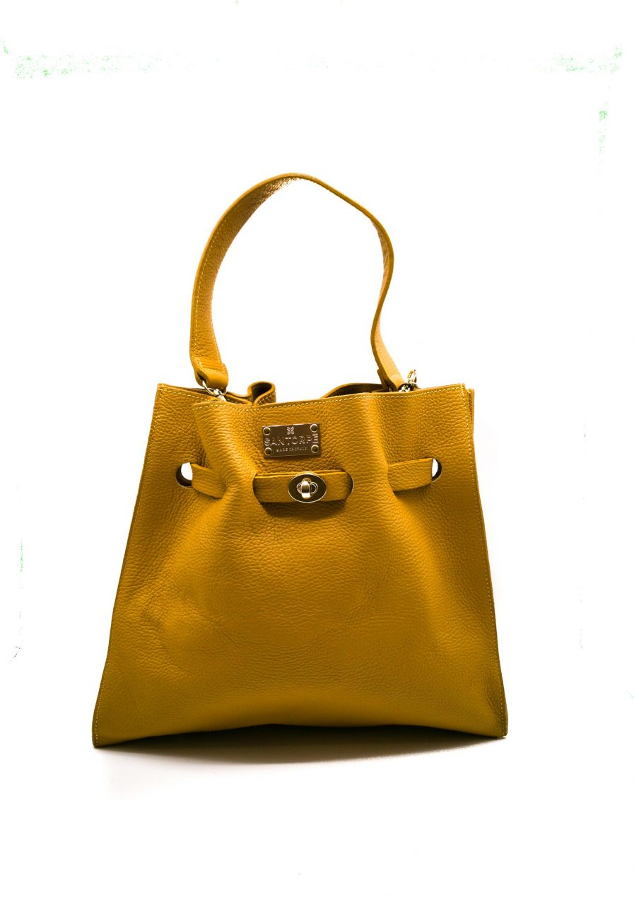 aria san torpe leather handbag